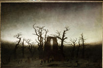 C.D.Friedrich / Abbey in the Oakwood /1809/10 by AKG  Images