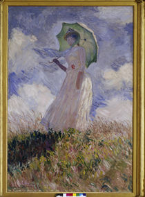 Claude Monet / Woman with umbrella by AKG  Images