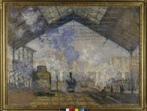 Monet / Gare Saint-Lazare / 1877 von AKG  Images