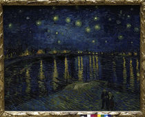 Vincent van Gogh / Starry Night Over the Rhone. by AKG  Images