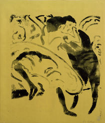 E.L.Kirchner / Dancing Couple by AKG  Images