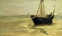 Eduoard Manet / Black Boat near Berck. by AKG  Images