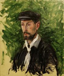Caillebotte / Portrait of Eugène Lamy by AKG  Images