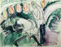 E.L.Kirchner, Pantomime III / 1912 von AKG  Images