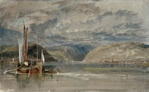 Turner / Rudesheim / 1817 by AKG  Images