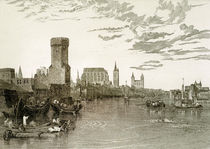 Cologne from the River / Willmore / 1817 by AKG  Images