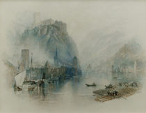 William Turner / Castles along the Rhine by AKG  Images