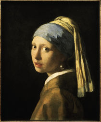 Vermeer / Girl with pearl earring /c. 1665 by AKG  Images