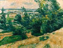Cézanne, L'Aqueduc du canal de Verdon von AKG  Images
