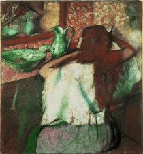 Degas / La Coiffure /  c. 1898/1900 by AKG  Images