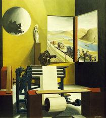 Carl Grossberg, Maschinensaal / 1925 von AKG  Images