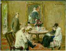 Max Liebermann / Family / Painting 1926 by AKG  Images