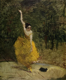 Toulouse-Lautrec / Spanish Dancer / 1888 by AKG  Images