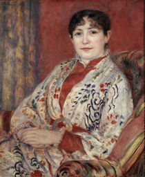 A.Renoir, Picture of Mme Leriaux 1886 by AKG  Images