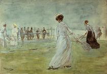 Liebermann, Tennis players by AKG  Images