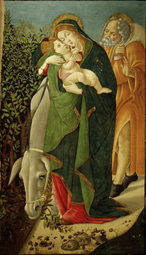 S.Botticelli / Flight into Egypt by AKG  Images