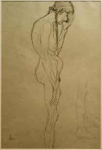 G.Klimt, Stehende alte Frau im Profil von AKG  Images