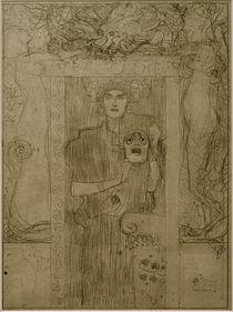Tragedy / G. Klimt / Sketch, 1897/98 by AKG  Images