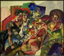 A.W.Lentulow, Frauen mit Früchten by AKG  Images