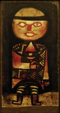 P.Klee / Actor / Painting / 1923 by AKG  Images