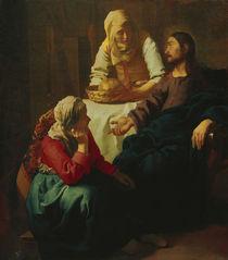 Vermeer / Christ i. house o. Mary and Martha by AKG  Images