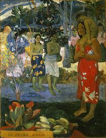 Gauguin, Ia Orana Maria/ 1891 von AKG  Images