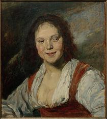 M. Liebermann, Kopie der Bohémienne von Frans Hals by AKG  Images