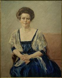 M. Liebermann, Bildnis Maria Newman by AKG  Images