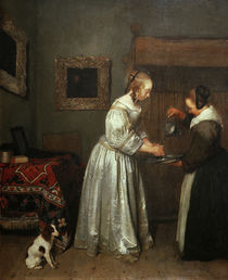 G.Ter Borch, Lady Washing her Hands by AKG  Images