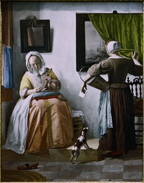 Metsu / Lady Reading a Letter by AKG  Images