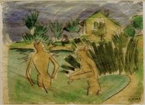 E.L.Kirchner, Badende bei Moritzburg von AKG  Images
