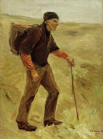 Max Liebermann, Schreitender Bauer by AKG  Images