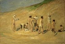 Max Liebermann, Jungen nach dem Bade by AKG  Images