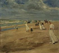 Max Liebermann, Strand bei Noordwijk by AKG  Images