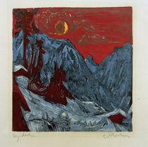 Ernst Ludwig Kirchner, Winter Moon Landscape by AKG  Images