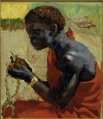 A.Gallen-Kallela, Blauer Kikuyu von AKG  Images