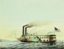 Mississippi-Dampfer / Möller von AKG  Images
