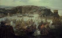 Eroberung von Salvador 1624 / A. v. Eertvelt von AKG  Images
