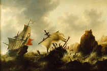 Jacob Bellevois, Shipwreck in Storm by AKG  Images