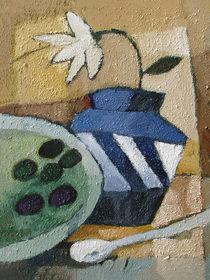Blue Vase by Arte Costa Blanca