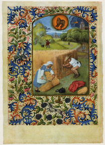 Dresden Prayer Book / July /  c. 1500 by AKG  Images