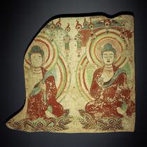 Sitzende Buddhas / zentralasiatisch by AKG  Images