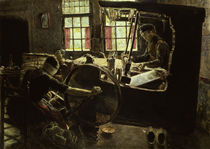 Liebermann / The Weaver / 1882 by AKG  Images