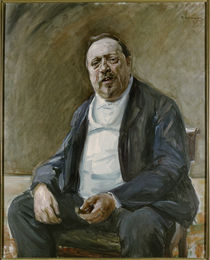 Alfred von Berger / Liebermann painting by AKG  Images