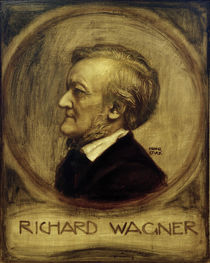 Richard Wagner, Paint. by Franz v. Stuck by AKG  Images