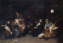 Max Liebermann, Gänserupferinnen, 1872 von AKG  Images