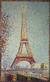 G.Seurat, Der Eiffelturm / 1889 von AKG  Images