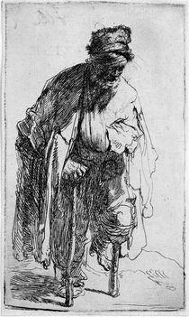 Rembrandt, Der Stelzfuß von AKG  Images