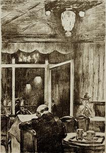 L.Ury, Abend im Café Bauer by AKG  Images