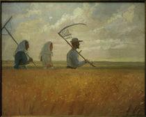 A.Ancher, Erntezeit von AKG  Images